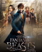映画『 ファンタスティック・ビーストと魔法使いの旅 (2016) FANTASTIC BEASTS AND WHERE TO FIND THEM 』ポスター