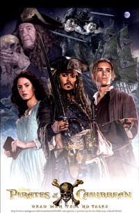 パイレーツ・オブ・カリビアン/最後の海賊ポスター16画像 ▼画像クリックで拡大します@映画の森てんこ森