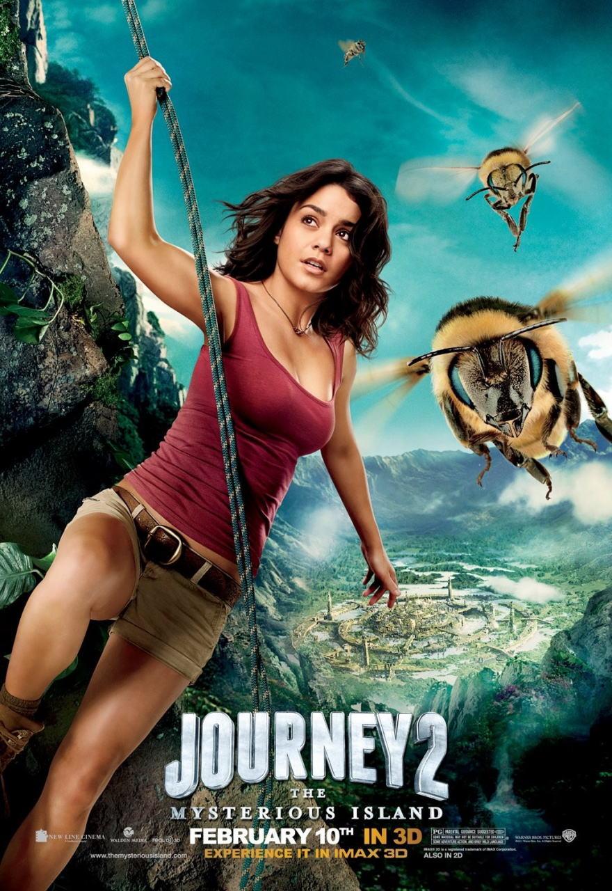 映画『センター・オブ・ジ・アース2 神秘の島 JOURNEY 2: THE MYSTERIOUS ISLAND』ポスター(2)