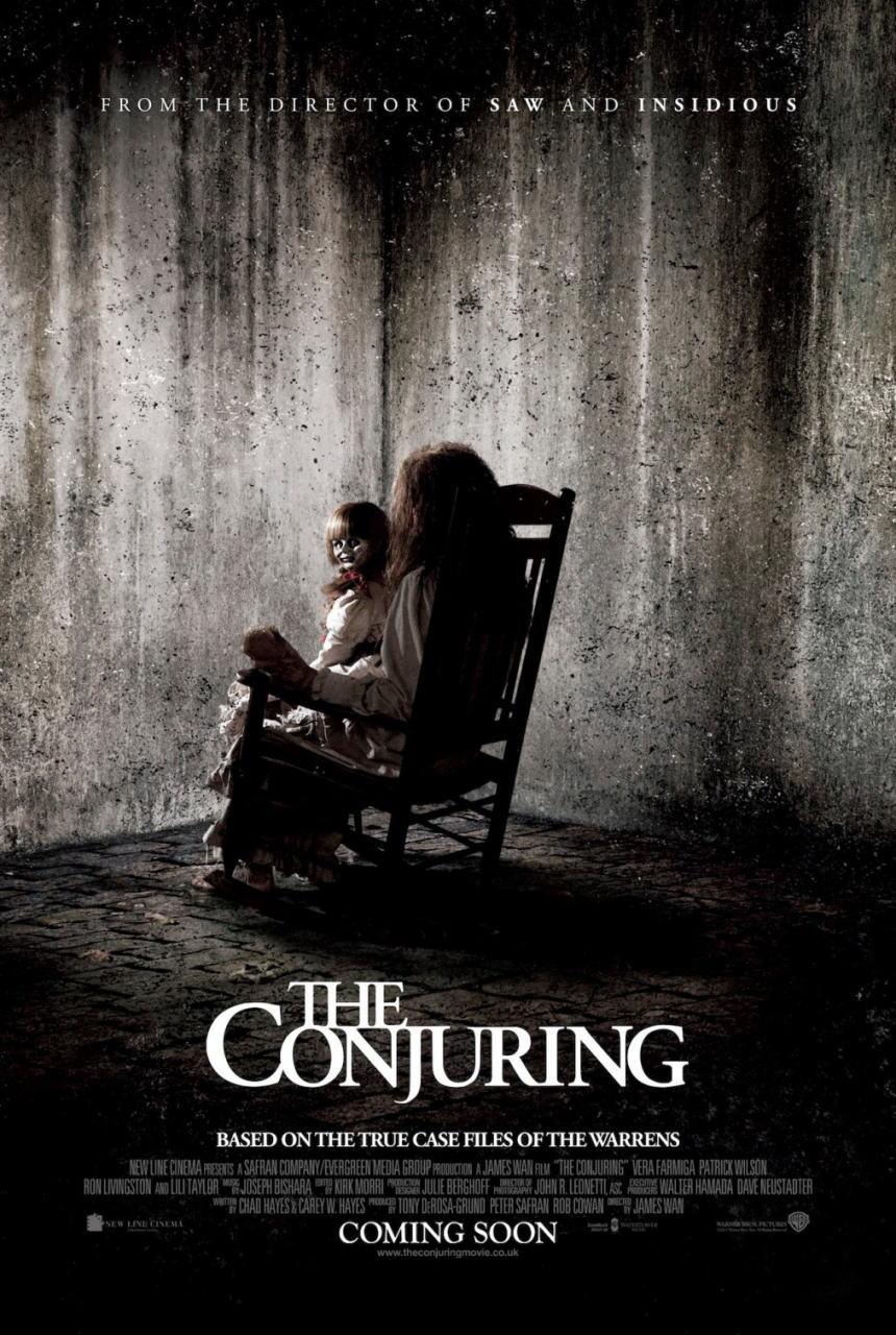映画『死霊館 (2013) THE CONJURING』ポスター(2)▼ポスター画像クリックで拡大します。