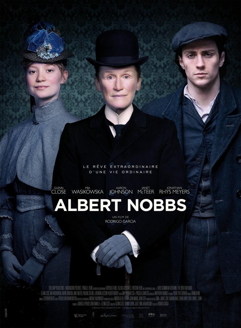 映画『アルバート氏の人生 ALBERT NOBBS』ポスター(2)▼ポスター画像クリックで拡大します。