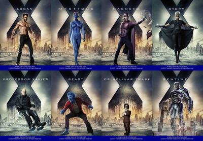 映画『X-MEN:フューチャー&パスト (2014) X-MEN: DAYS OF FUTURE PAST』ポスター(4)▼ポスター画像クリックで拡大します。
