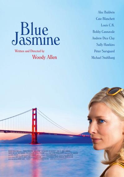 映画『ブルージャスミン (2013) BLUE JASMINE』ポスター(3)▼ポスター画像クリックで拡大します。