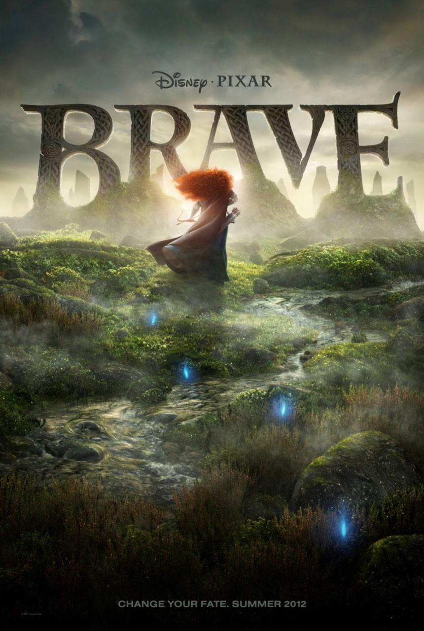 映画『メリダとおそろしの森 BRAVE』ポスター(2) ▼ポスター画像クリックで拡大します。