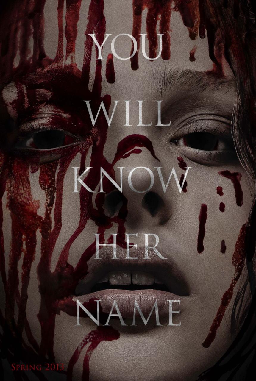 映画『キャリー (2013) CARRIE』ポスター(1)▼ポスター画像クリックで拡大します。