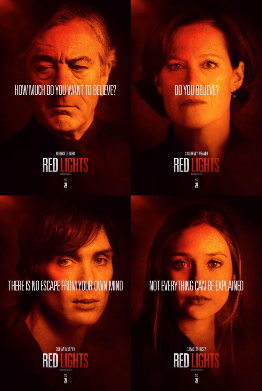 映画『レッド・ライト RED LIGHTS』ポスター(4) ▼ポスター画像クリックで拡大します。