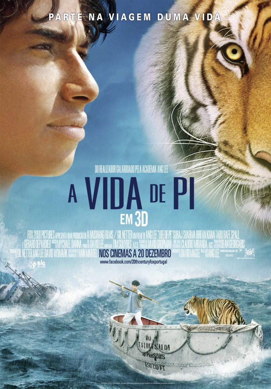 映画『ライフ・オブ・パイ/トラと漂流した227日 (2012) LIFE OF PI』ポスター(7)▼ポスター画像クリックで拡大します。
