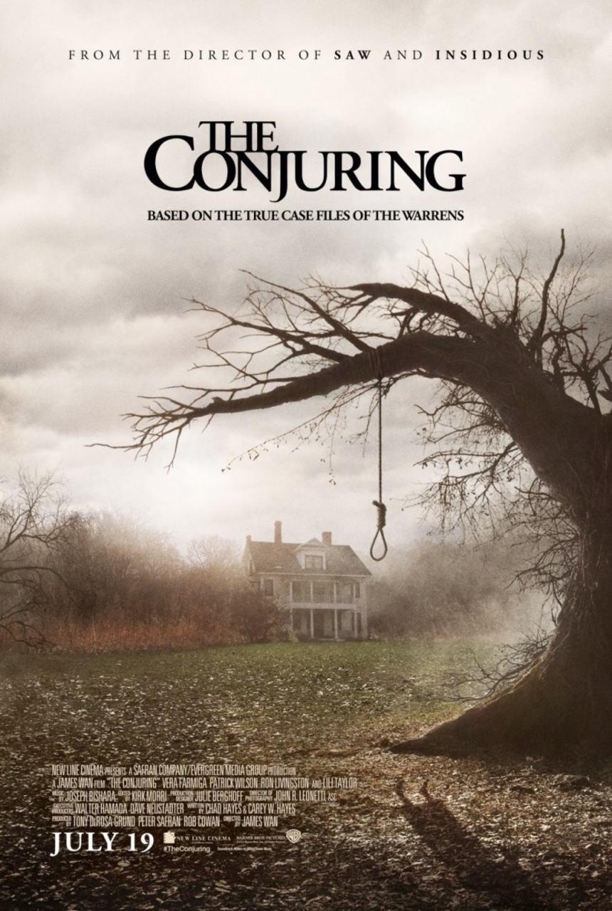 映画『死霊館 (2013) THE CONJURING』ポスター(1)▼ポスター画像クリックで拡大します。