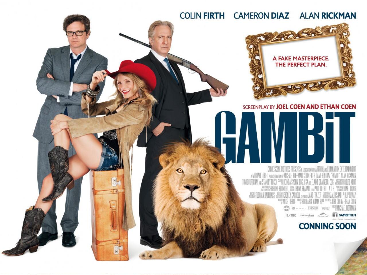 映画『モネ・ゲーム (2012) GAMBIT』ポスター(7)▼ポスター画像クリックで拡大します。