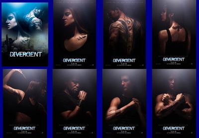 映画『ダイバージェント (2014) DIVERGENT』ポスター(5)▼ポスター画像クリックで拡大します。