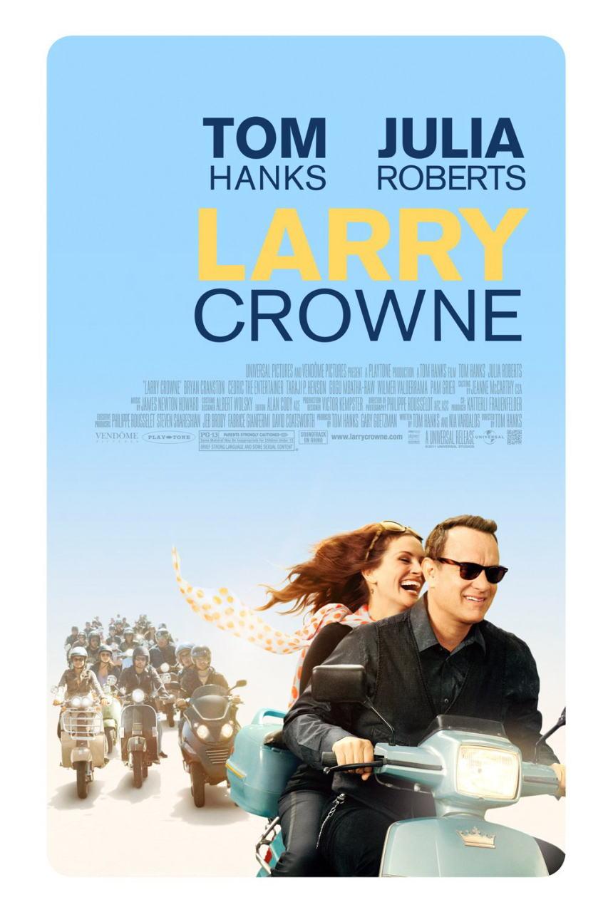 映画『幸せの教室 LARRY CROWNE』ポスター(1)▼ポスター画像クリックで拡大します。
