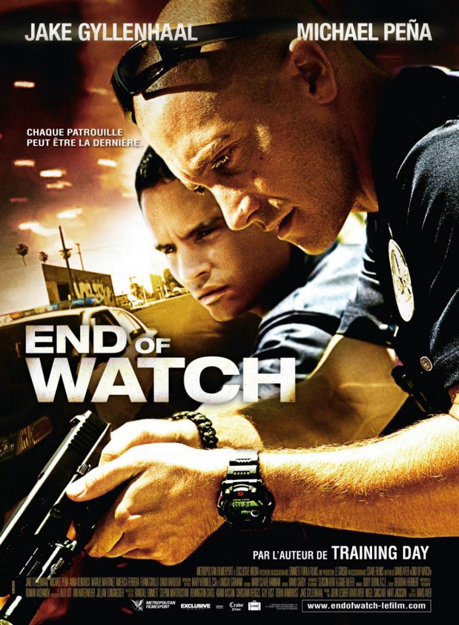 映画『エンド・オブ・ウォッチ END OF WATCH』ポスター(4) ▼ポスター画像クリックで拡大します。