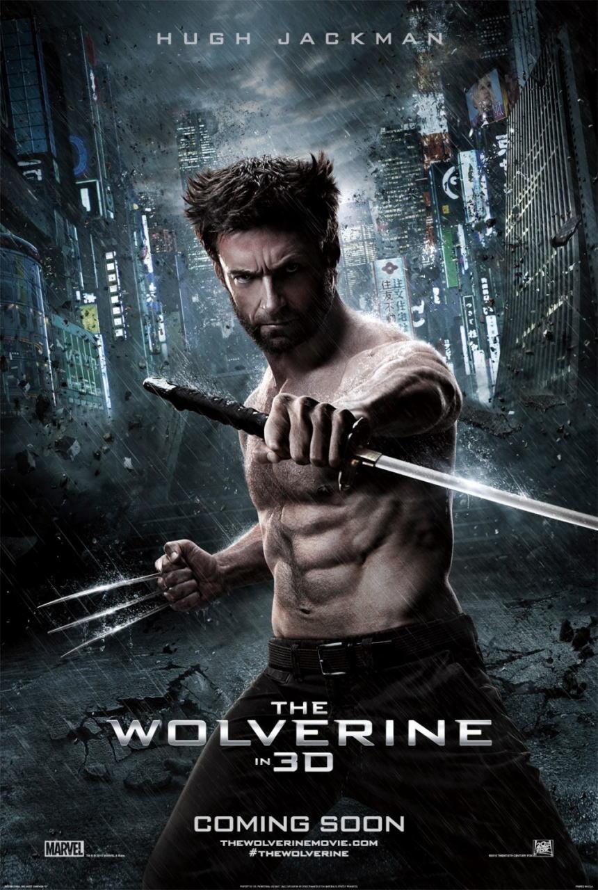 映画『ウルヴァリン:SAMURAI (2013) THE WOLVERINE』ポスター(2)▼ポスター画像クリックで拡大します。