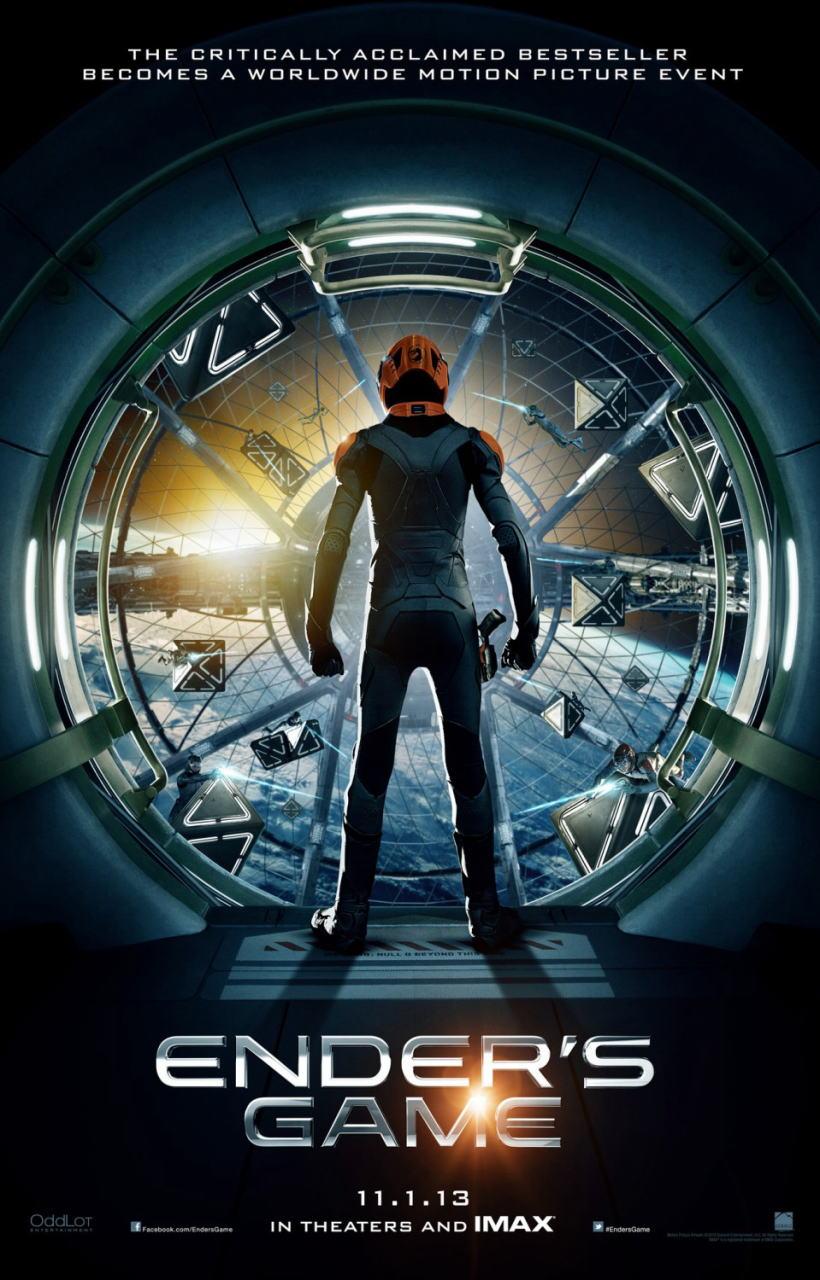 映画『エンダーのゲーム (2013) ENDER'S GAME』ポスター(2) ▼ポスター画像クリックで拡大します。