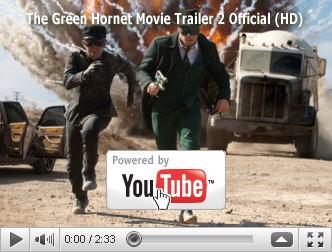 ※クリックでYouTube『グリーン・ホーネット THE GREEN HORNET』予告編へ