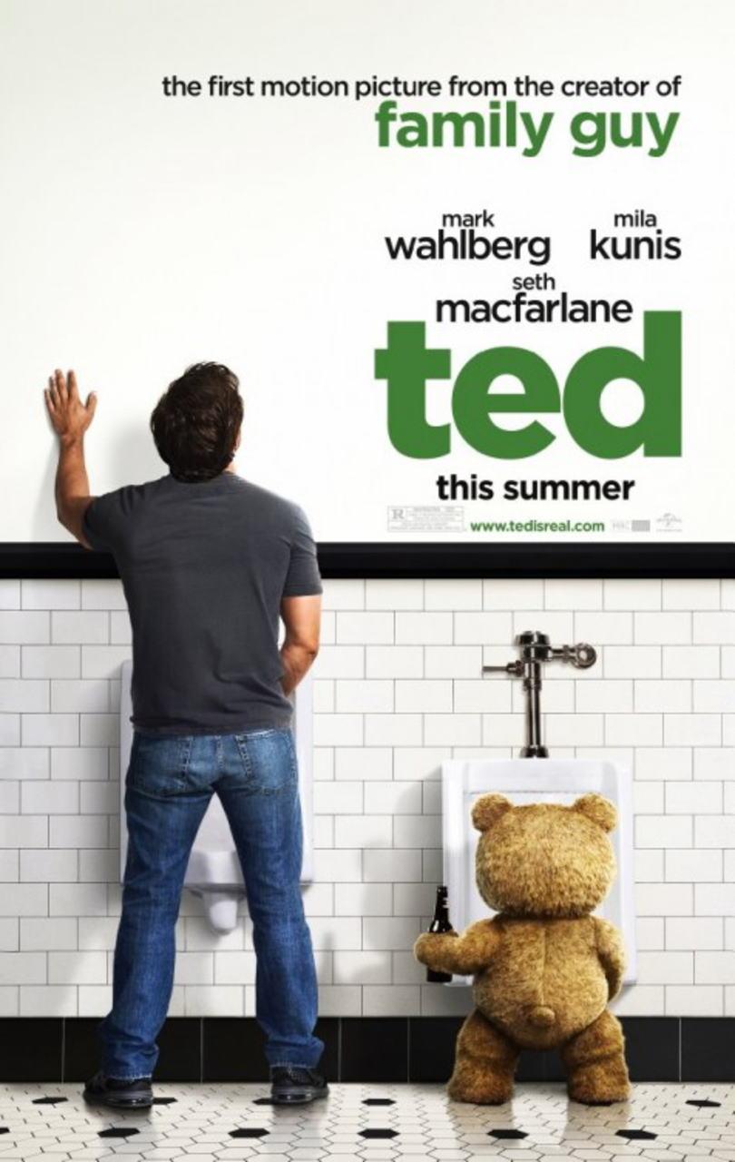 映画『テッド TED』ポスター(3)▼ポスター画像クリックで拡大します。