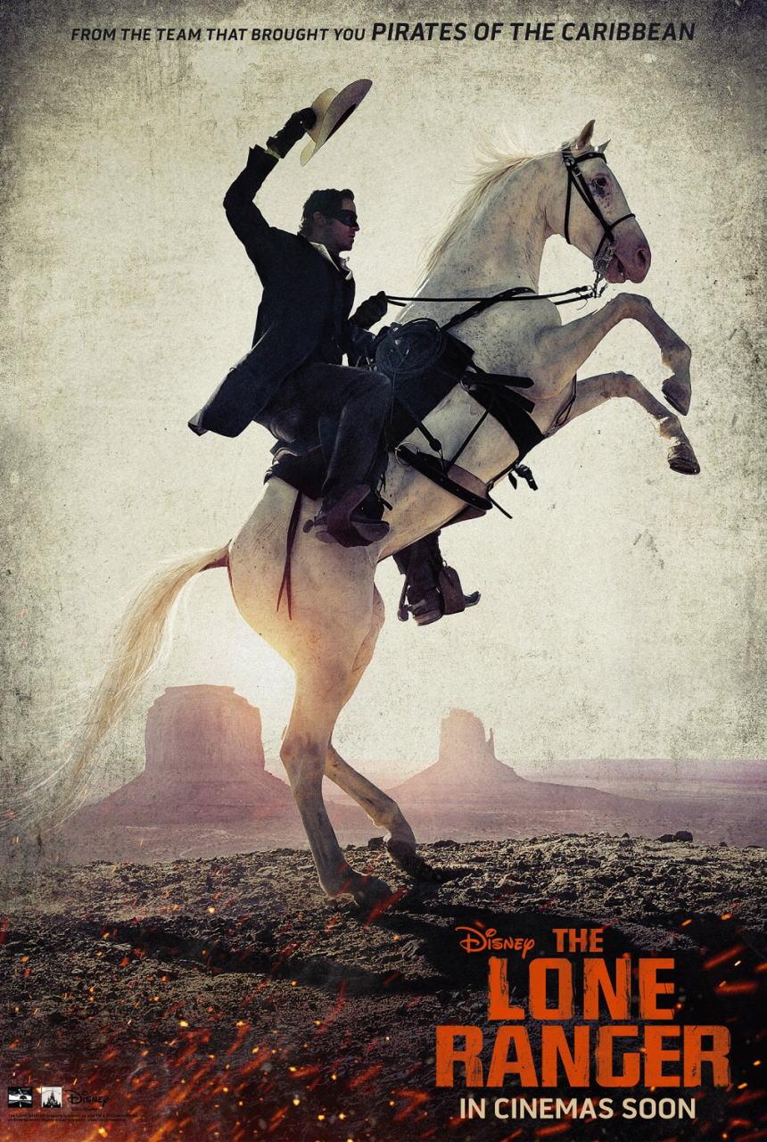映画『ローン・レンジャー (2013) THE LONE RANGER』ポスター(5) ▼ポスター画像クリックで拡大します。