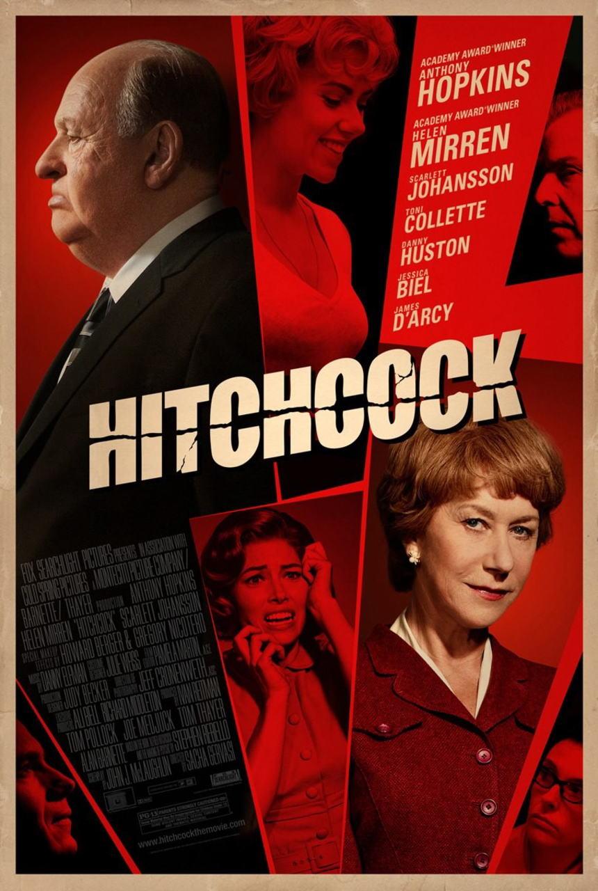 映画『ヒッチコック HITCHCOCK』ポスター(2) ▼ポスター画像クリックで拡大します。