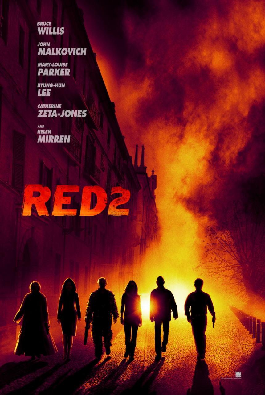 映画『REDリターンズ (2013) RED 2』ポスター(1) ▼ポスター画像クリックで拡大します。