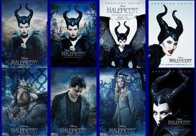 映画『マレフィセント (2014) MALEFICENT』ポスター(3)▼ポスター画像クリックで拡大します。