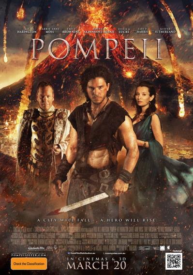 映画『ポンペイ (2014) POMPEII』ポスター(2)▼ポスター画像クリックで拡大します。