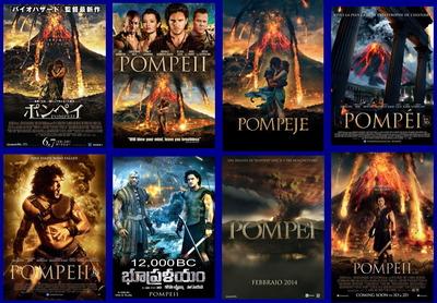 映画『ポンペイ (2014) POMPEII』ポスター(3)▼ポスター画像クリックで拡大します。