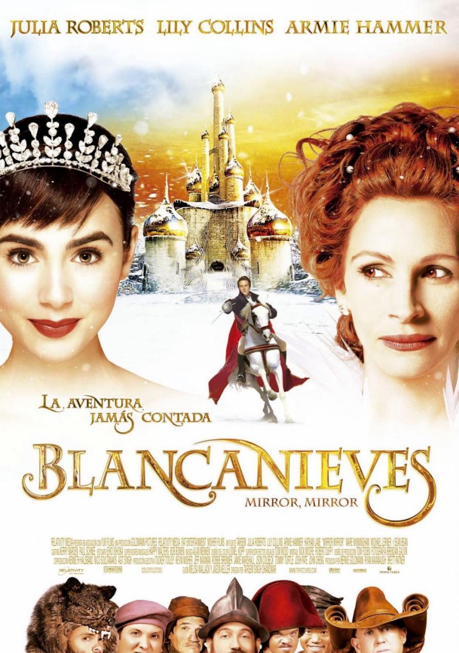 映画『白雪姫と鏡の女王 MIRROR MIRROR』ポスター(5)▼ポスター画像クリックで拡大します。