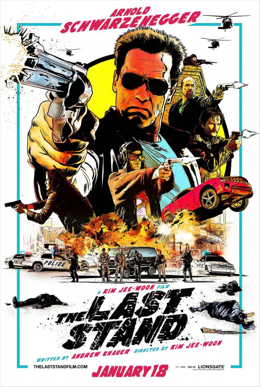 映画『ラストスタンド THE LAST STAND』ポスター(1)▼ポスター画像クリックで拡大します。