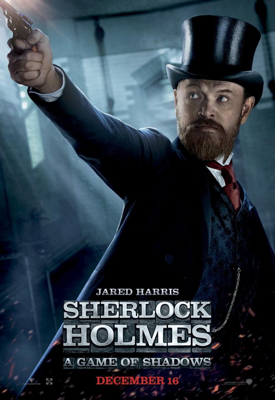 映画『シャーロック・ホームズ シャドウ ゲーム SHERLOCK HOLMES: A GAME OF SHADOWS』ポスター(8)