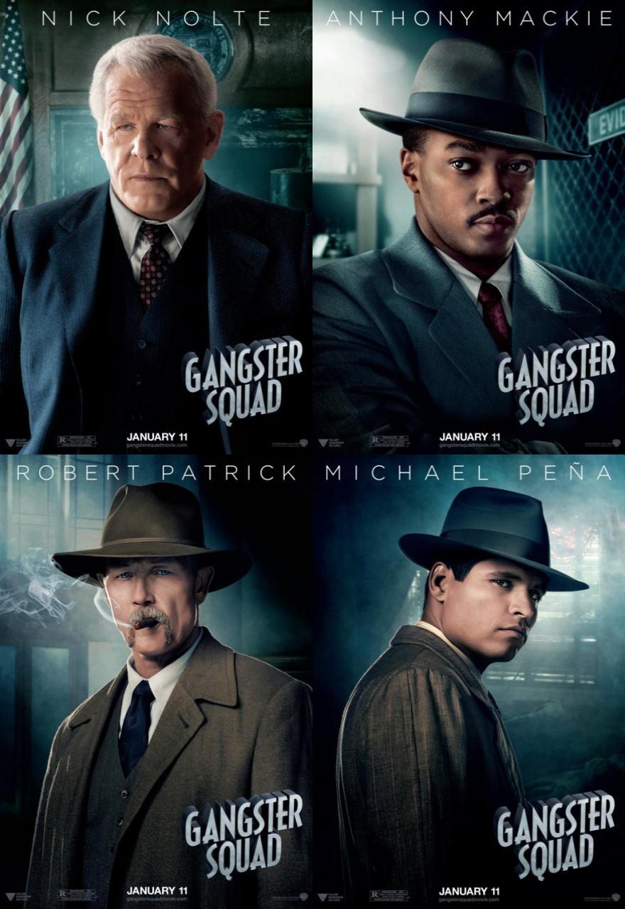 映画『L.A. ギャング ストーリー (2012) GANGSTER SQUAD』ポスター(8) ▼ポスター画像クリックで拡大します。