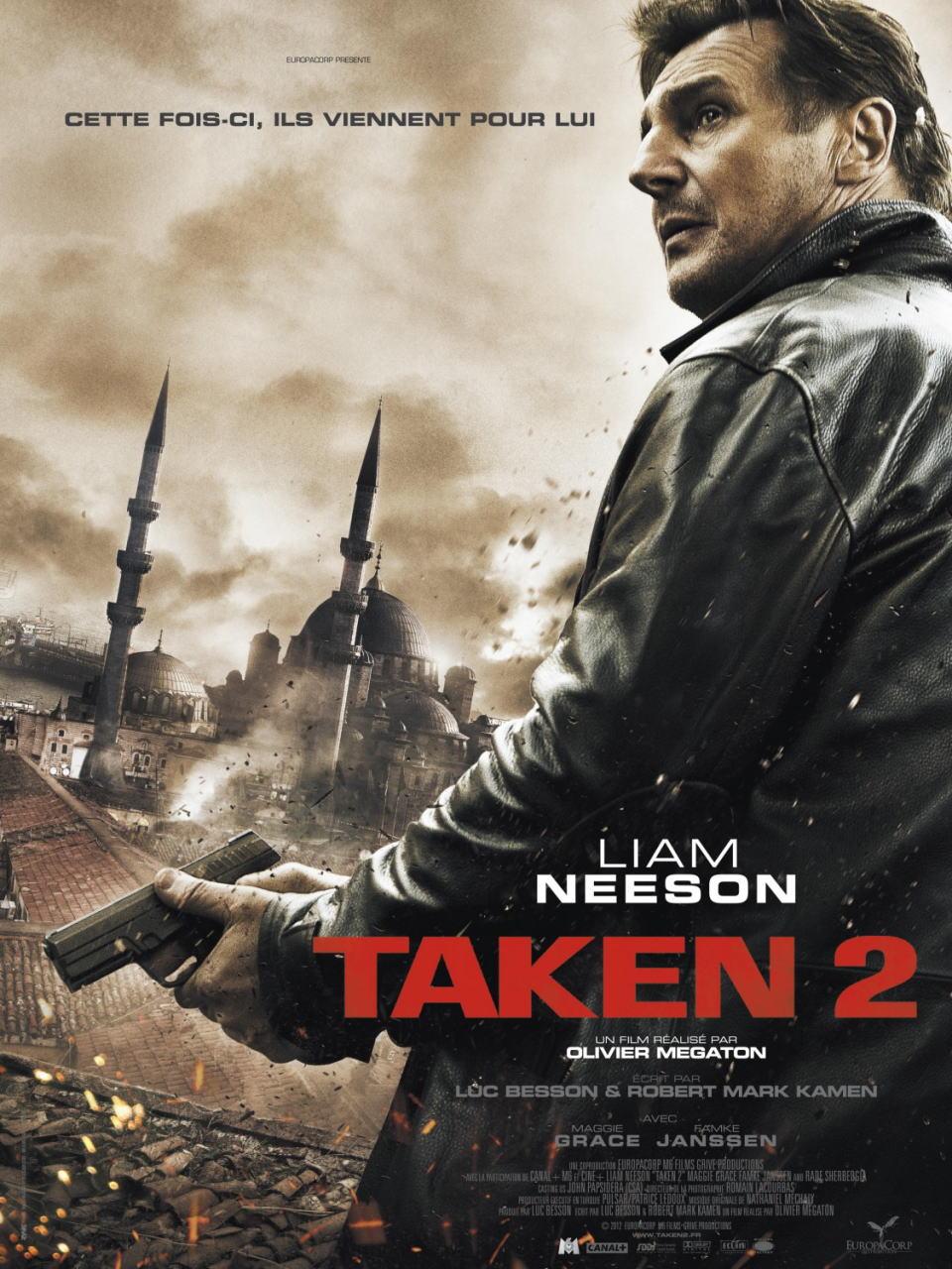 映画『96時間/リベンジ TAKEN 2』ポスター(4) ▼ポスター画像クリックで拡大します。