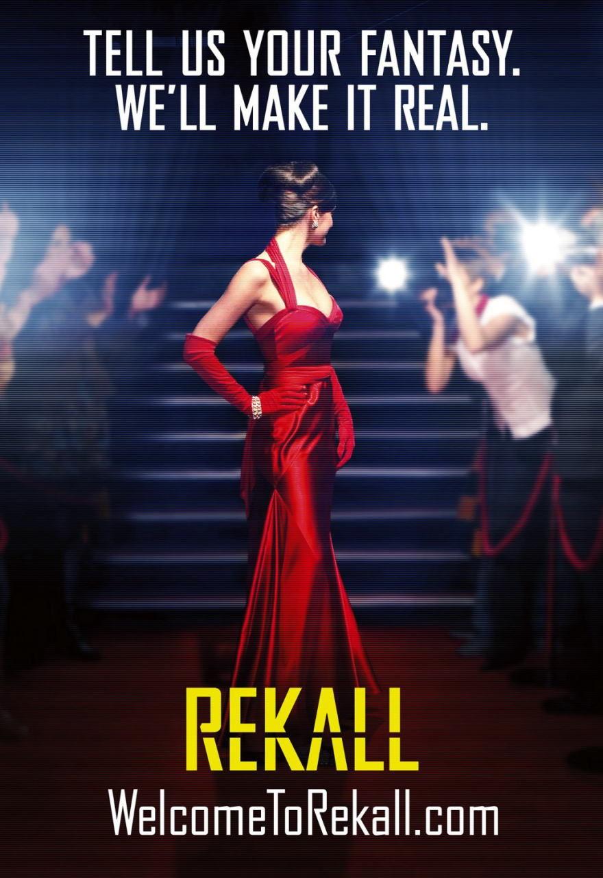 映画『トータル・リコール TOTAL RECALL』ポスター(6) ▼ポスター画像クリックで拡大します。