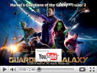※クリックでYouTube『ガーディアンズ・オブ・ギャラクシー GUARDIANS OF THE GALAXY』予告編へ
