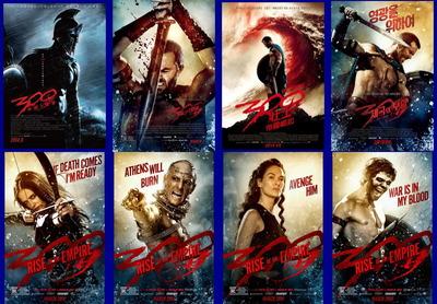 映画『300 <スリーハンドレッド> 〜帝国の進撃〜 (2014) 300: RISE OF AN EMPIRE』ポスター(3)▼ポスター画像クリックで拡大します。