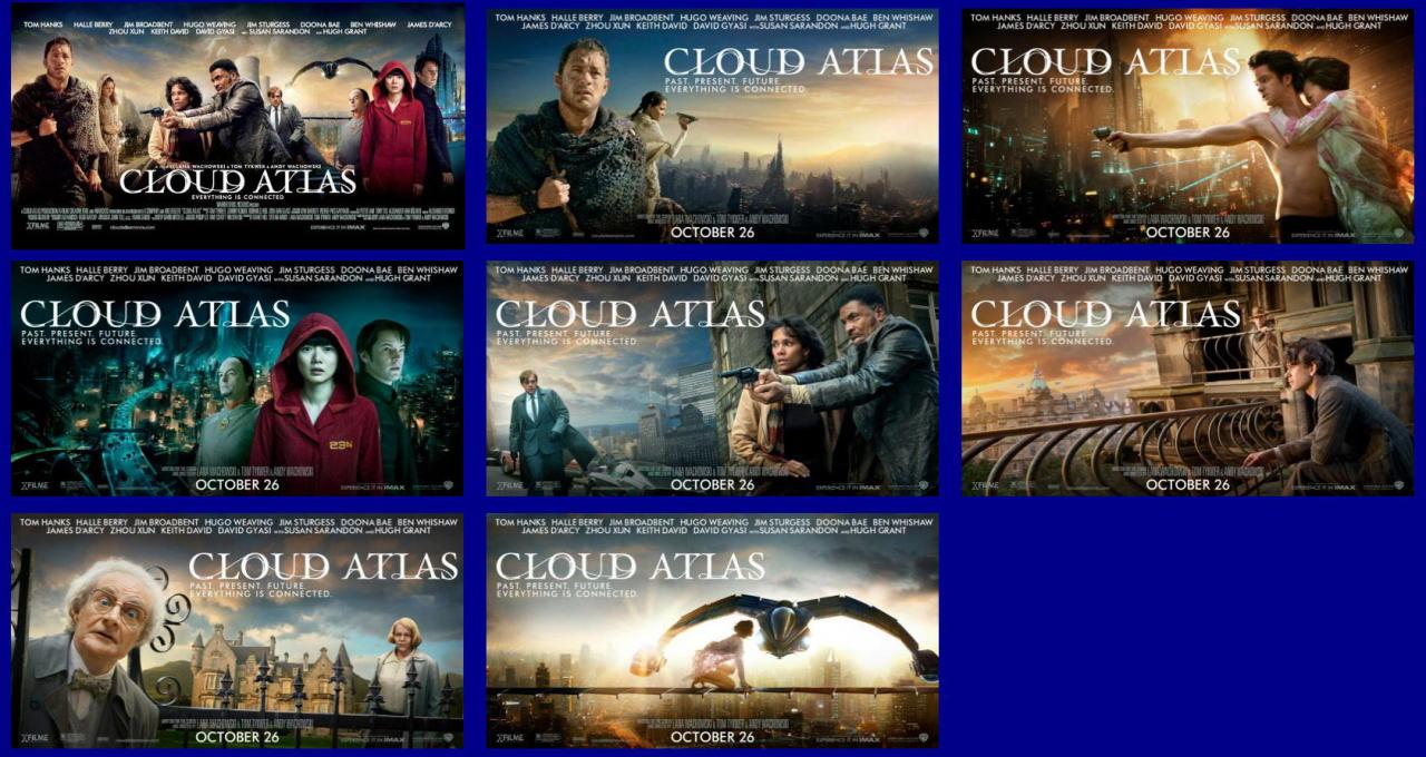 映画『クラウド アトラス (2012) CLOUD ATLAS』ポスター(9)▼ポスター画像クリックで拡大します。