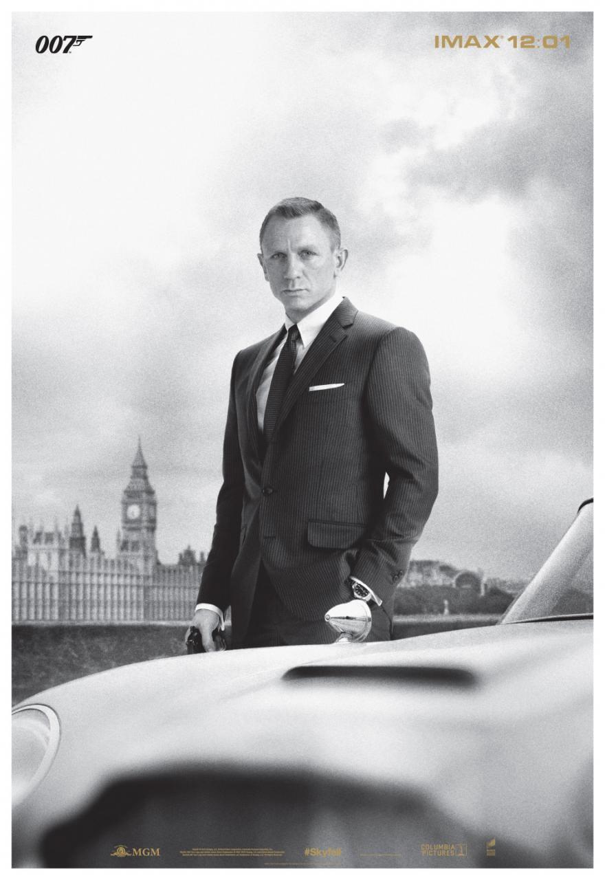 映画『007 スカイフォール SKYFALL』ポスター(5)▼ポスター画像クリックで拡大します。