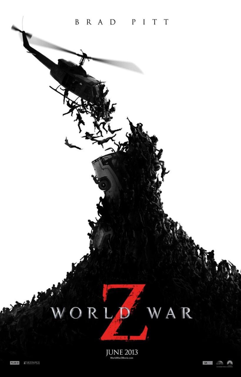 映画『ワールド・ウォーZ (2013) WORLD WAR Z』ポスター(5)▼ポスター画像クリックで拡大します。