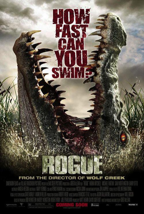 映画『マンイーター ROGUE』ポスター(2)▼ポスター画像クリックで拡大します。