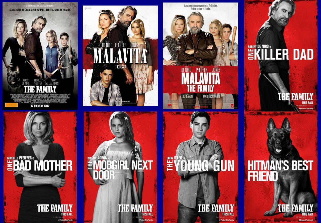 映画『マラヴィータ (2013) THE FAMILY (英題) / MALAVITA (仏題)』ポスター(5)▼ポスター画像クリックで拡大します。