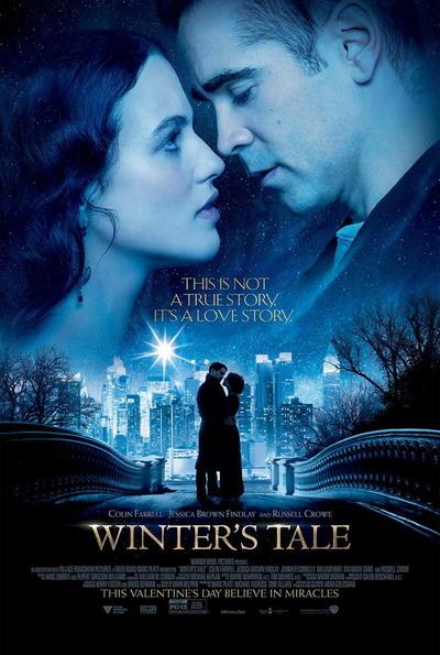 映画『ニューヨーク 冬物語 (2014) WINTER'S TALE』ポスター(1) ▼ポスター画像クリックで拡大します。