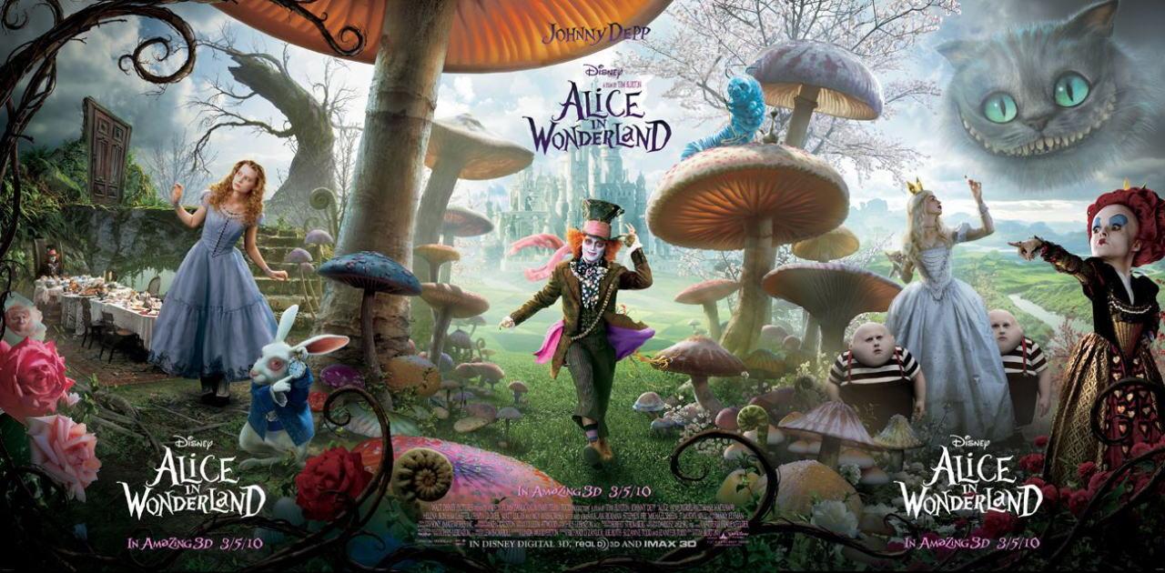 映画『アリス・イン・ワンダーランド ALICE IN WONDERLAND』ポスター(9)