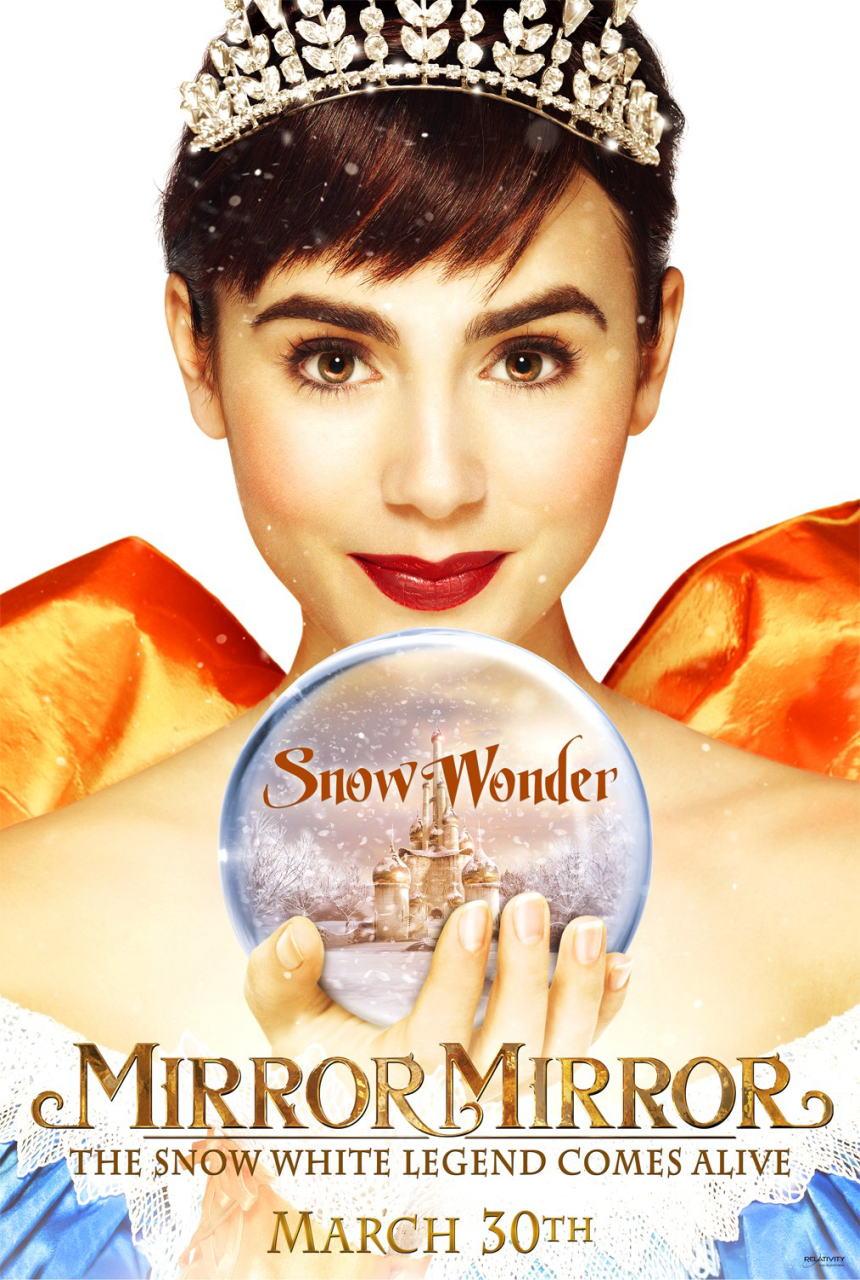 映画『白雪姫と鏡の女王 MIRROR MIRROR』ポスター(3) ▼ポスター画像クリックで拡大します。