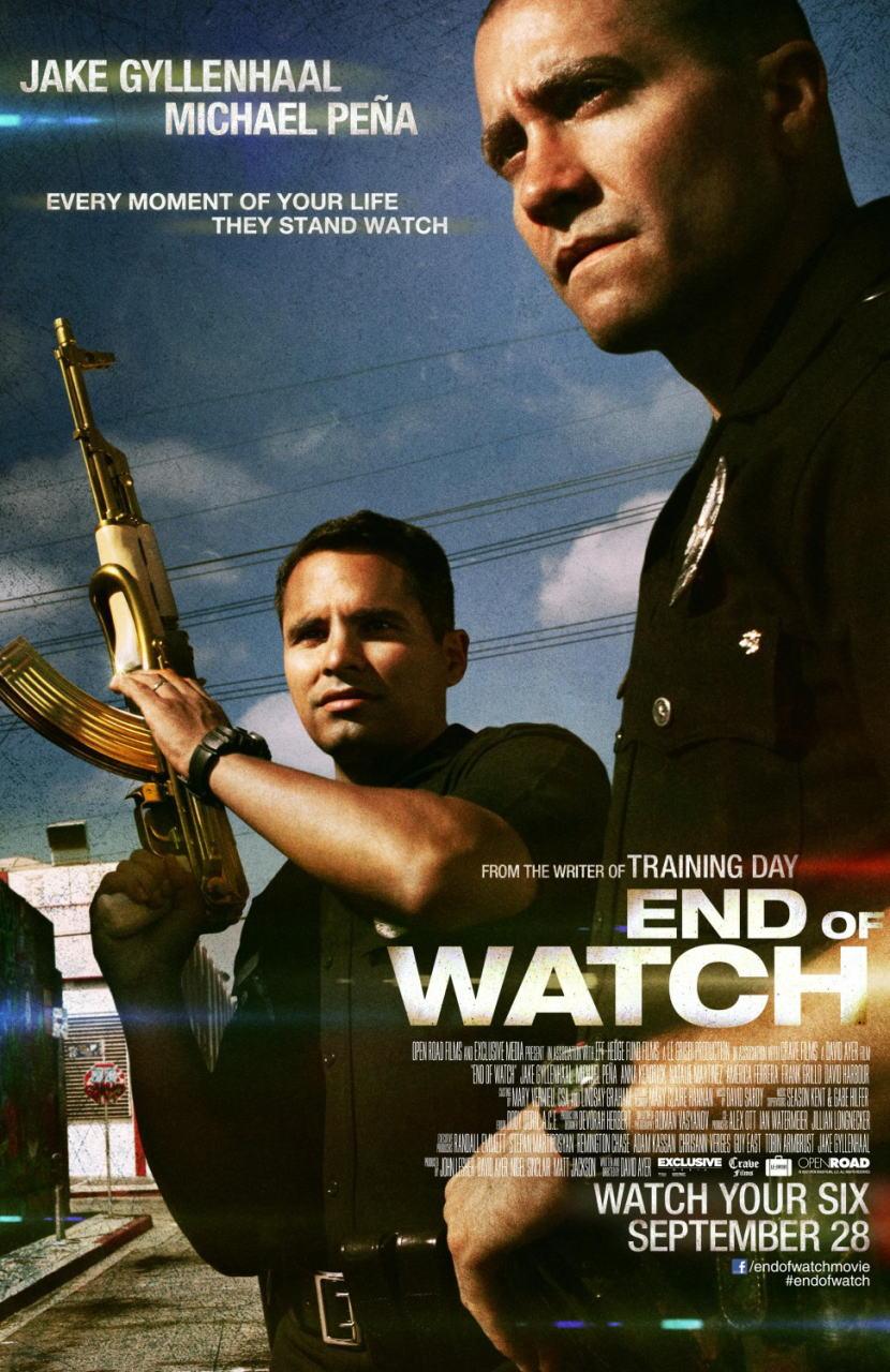 映画『エンド・オブ・ウォッチ END OF WATCH』ポスター(2) ▼ポスター画像クリックで拡大します。