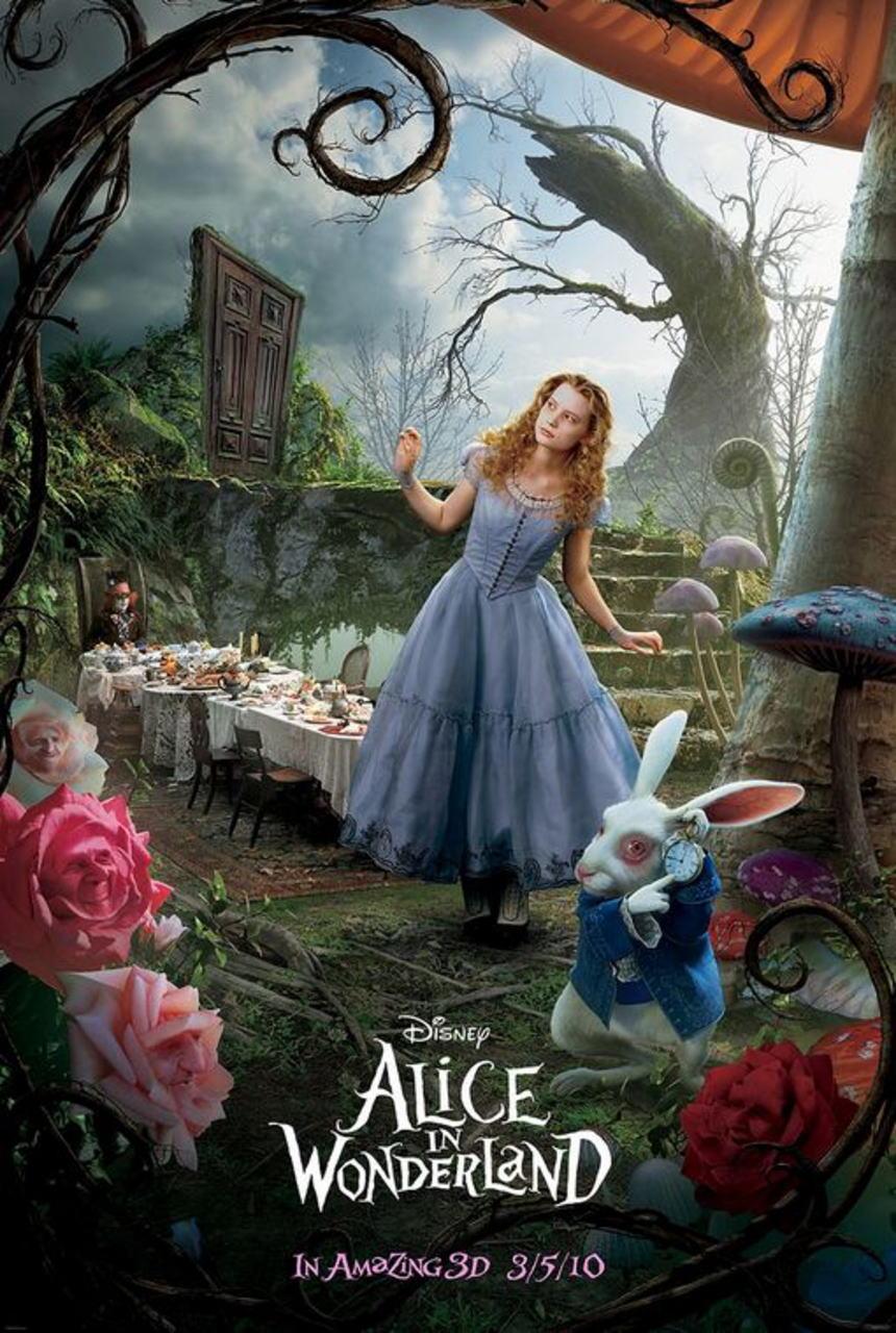 映画『アリス・イン・ワンダーランド ALICE IN WONDERLAND』ポスター(2)
