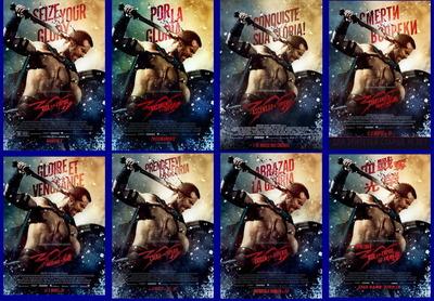 映画『300 <スリーハンドレッド> 〜帝国の進撃〜 (2014) 300: RISE OF AN EMPIRE』ポスター(4) ▼ポスター画像クリックで拡大します。
