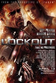 映画『 ロックアウト (2012) LOCKOUT 』ポスター