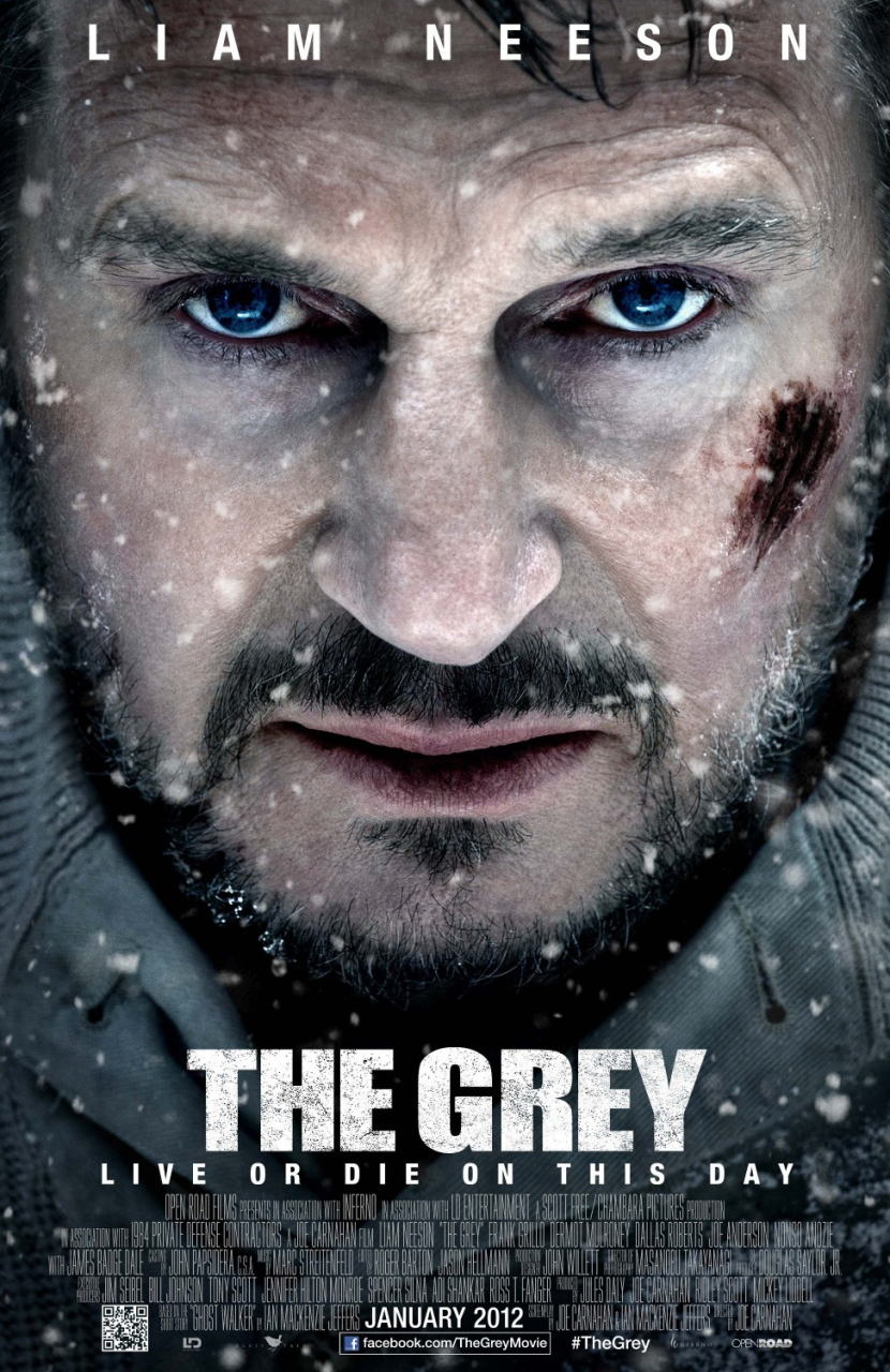 映画『THE GREY 凍える太陽 THE GREY』ポスター(1) ▼ポスター画像クリックで拡大します。