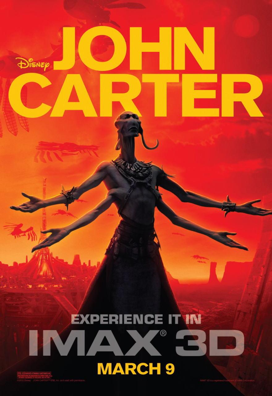 映画『ジョン・カーター JOHN CARTER』ポスター(7) ▼ポスター画像クリックで拡大します。