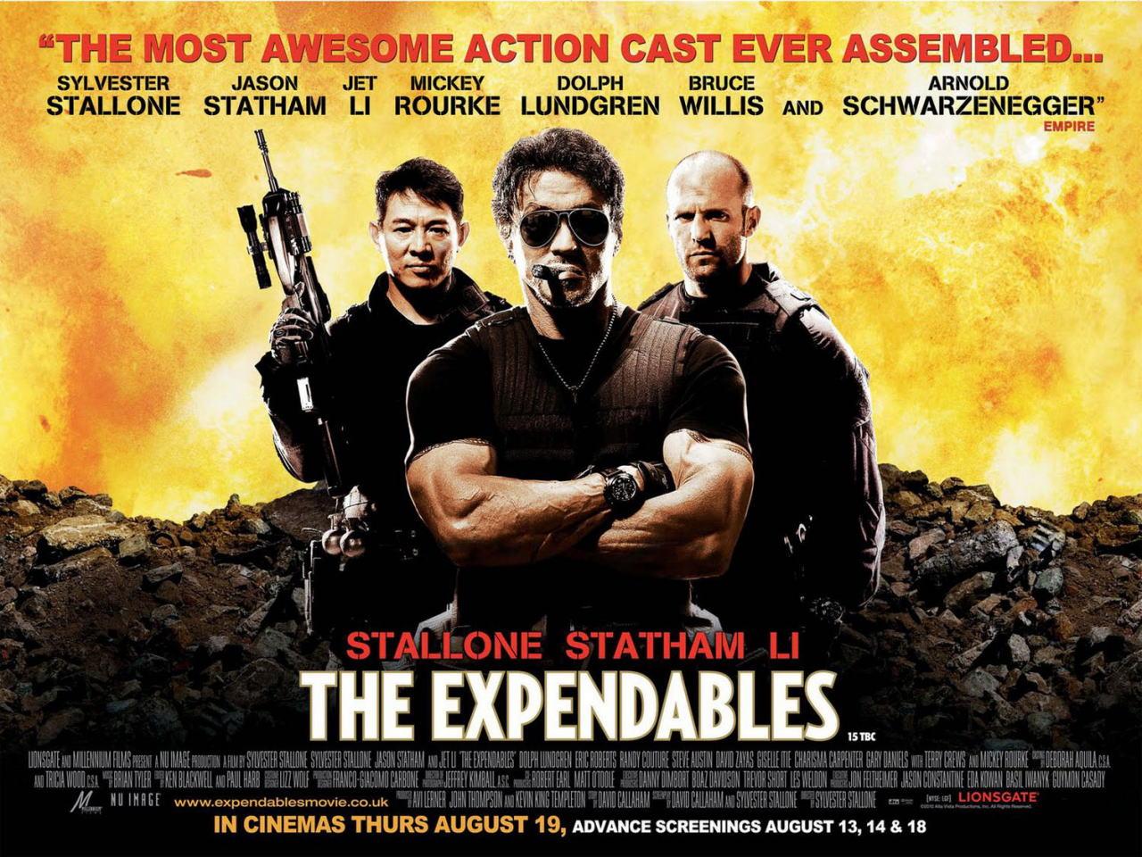 映画『エクスペンダブルズ PROMETHEUS』ポスター(8) ▼ポスター画像クリックで拡大します。