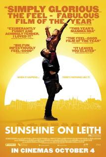 映画『 サンシャイン/歌声が響く街 (2013) SUNSHINE ON LEITH 』ポスター